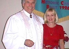 Pastor Ted Fielland and his wife Marsha