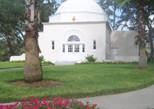 Historic Chapel, corner of Inverness and Woodmont